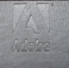 The Adobe 'A' Moleskine notebook