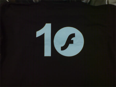 Flash 10th Anniversary T-Shirt (Back)